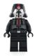 Minifig No: sw0414  Name: Sith Trooper - Black Outfit, Plain Legs