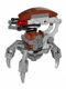 Minifig No: sw0441a  Name: Droideka - Destroyer Droid (Flat Silver Arms Mechanical)