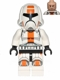 Minifig No: sw0444  Name: Republic Trooper (Cheek Lines)