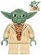 Minifig No: sw0446a  Name: Yoda (Clone Wars, Gray Hair, Torso with Back Printing)