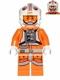 Minifig No: sw0461  Name: Luke Skywalker (Pilot, Printed Legs)