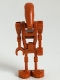 Minifig No: sw0467  Name: Battle Droid Dark Orange without Back Plate