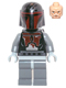 Minifig No: sw0495  Name: Mandalorian Super Commando (Head with High Brow Pattern)