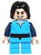 Minifig No: sw0514  Name: Boba Fett, Young - Light Flesh Head