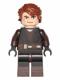 Minifig No: sw0542  Name: Anakin Skywalker (Dark Brown Legs)