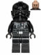 Minifig No: sw0543  Name: Tie Fighter Pilot (Light Flesh, Patterned Head)