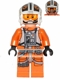 Minifig No: sw0544  Name: Rebel Pilot X-wing (Theron Nett)