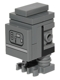 Minifig No: sw0562  Name: Gonk Droid (GNK Power Droid), Dark Bluish Gray