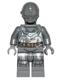 Minifig No: sw0573  Name: RA-7 Protocol Droid (Dark Buish Gray)