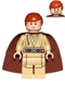 Minifig No: sw0592  Name: Obi-Wan Kenobi (Young, Printed Legs)