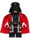 Minifig No: sw0599  Name: Santa Darth Vader