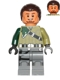 Minifig No: sw0602  Name: Kanan Jarrus (Dark Brown Hair and Eyebrows)