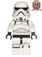 Minifig No: sw0617  Name: Stormtrooper (Printed Legs, Dark Azure Helmet Vents, Frown)