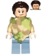Minifig No: sw0643  Name: Princess Leia (Camouflage Cape)