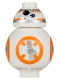 Minifig No: sw0661  Name: BB-8 (Small Photoreceptor)