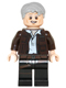 Minifig No: sw0675  Name: Han Solo, Old (Lopsided Grin)