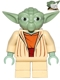 Minifig No: sw0685  Name: Yoda (Clone Wars, White Hair)