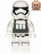 Minifig No: sw0695  Name: First Order Heavy Assault Stormtrooper (Rounded Mouth Pattern)