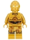 Minifig No: sw0700  Name: C-3PO - Colorful Wires, Printed Legs