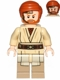 Minifig No: sw0704  Name: Obi-Wan Kenobi - with Headset