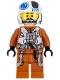 Minifig No: sw0705  Name: Resistance Pilot X-wing (Temmin 'Snap' Wexley)