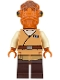 Minifig No: sw0719  Name: Admiral Ackbar (Medium Dark Flesh Robe)