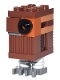 Minifig No: sw0767  Name: Gonk Droid (GNK Power Droid), Reddish Brown