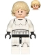 Minifig No: sw0777  Name: Luke Skywalker - Stormtrooper Outfit, Printed Legs