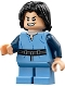 Minifig No: sw0844  Name: Boba Fett, Young - Light Flesh Head, Crooked Malicious Smile