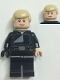 Minifig No: sw0880a  Name: Luke Skywalker (Jedi Master, Endor, Tan Hair, Stern / Smile)