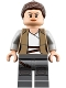 Minifig No: sw0888  Name: Rey - Dark Tan Jacket
