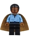 Minifig No: sw0973  Name: Lando Calrissian, Cloud City Outfit (Coiled Texture Hair)