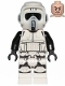Minifig No: sw1007  Name: Scout Trooper (Dual Molded Helmet, Printed Legs)