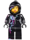 Minifig No: tlm017  Name: Wyldstyle with Hood