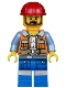 Minifig No: tlm047  Name: Frank the Foreman