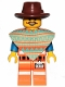 Minifig No: tlm062  Name: Emmet - Western Outfit