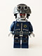 Minifig No: tlm070  Name: Robo SWAT with Goggles and Neck Bracket