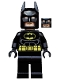 Minifig No: tlm082  Name: Batman - Black Suit with Yellow Belt and Crest (Type 2 Cowl, no Cape)