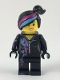 Minifig No: tlm103  Name: Lucy Wyldstyle with Magenta Lined Hoodie