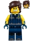 Minifig No: tlm112  Name: Rex Dangervest - Smile, Teeth / Angry