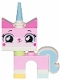 Minifig No: tlm126  Name: Unikitty - Lopsided Smile