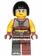 Minifig No: tlm170  Name: Sharkira - Hair