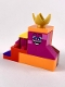 Minifig No: tlm182  Name: Queen Watevra Wa'Nabi - Small Pile of Bricks Form