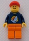 Minifig No: tls006  Name: Lego Brand Store Male, Surfboard on Ocean - Indianapolis