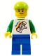 Minifig No: tls066  Name: Lego Brand Store Male, Classic Space Minifigure Floating - (no back printing) {Manchester}