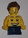 Minifig No: tls091  Name: Lego Brand Store Boy, Large Smiley Face Torso, Short Legs (no back printing) - Lego Store at KidsFest