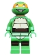 Minifig No: tnt012  Name: Michelangelo (79100)