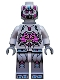 Minifig No: tnt034  Name: The Kraang - Gray Exo-Suit Body with Jet Pack