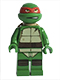 Minifig No: tnt037  Name: Raphael, Gritted Teeth