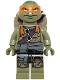 Minifig No: tnt040  Name: Michelangelo (79115)